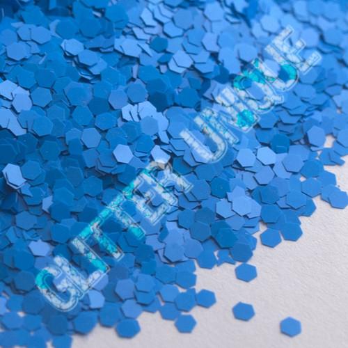 Matte Neon Blue Hex .062