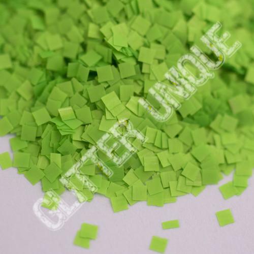 Neon Green Square .062