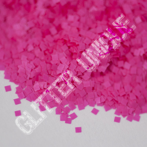 Neon Pink Square .035