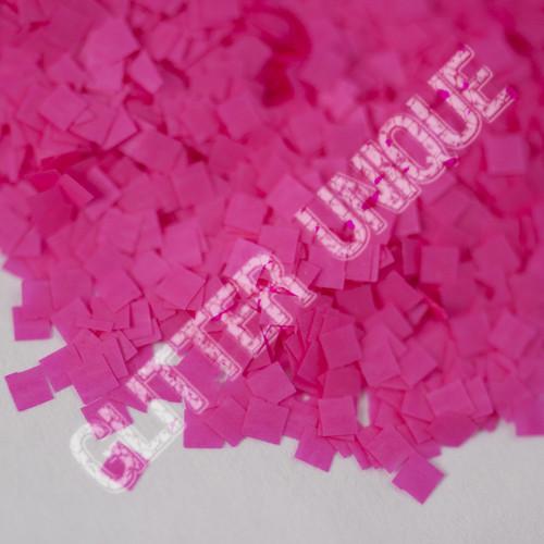 Neon Pink Square .062