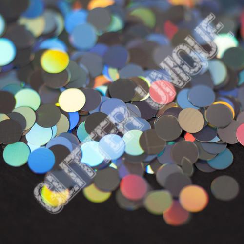 Silver Holo Dots .118