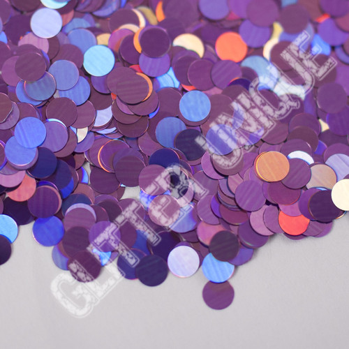 Violet Holo Dots .118