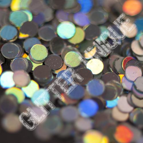 Silver Holo Dots .078