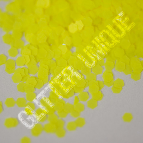 Neon Yellow Hex .062