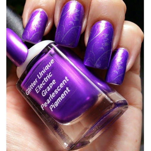 Electric Grape Pearlescent Pigment