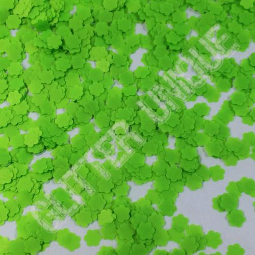 Neon Green Daisies