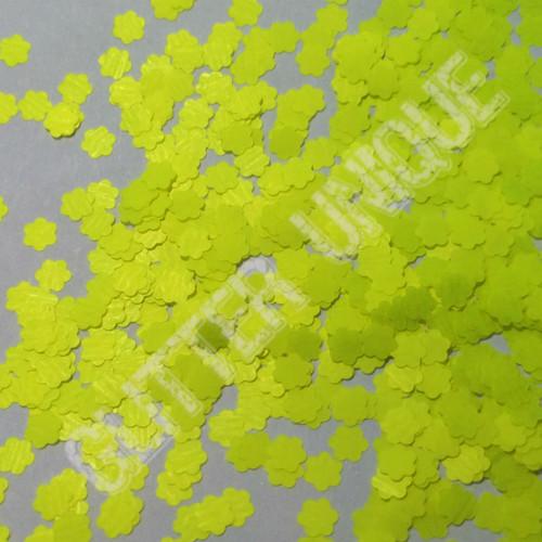 Neon Yellow Daisies