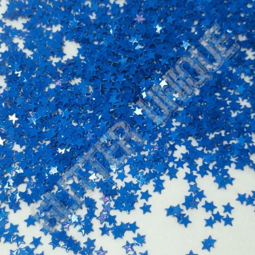 Matte Blue Stars - MINI