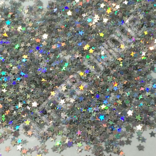 Silver Holo Stars - MINI