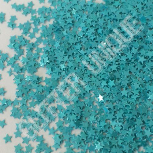 Matte Blue Lagoon Stars - MINI