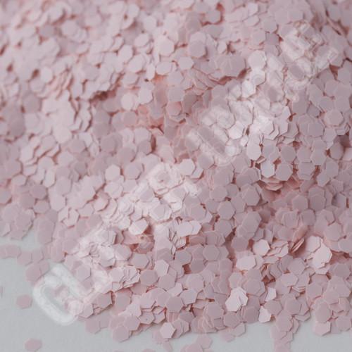 Matte Pink Chiffon Hex .040