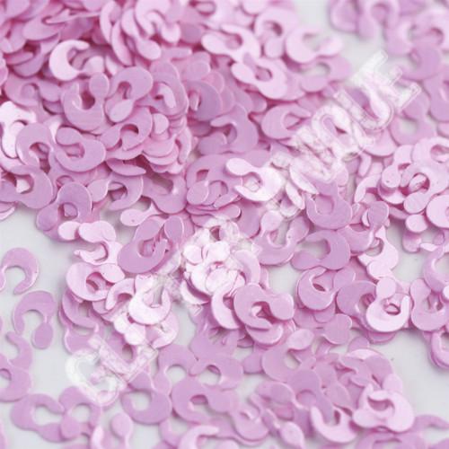 Matte Cotton Candy Pink Leopard Spots