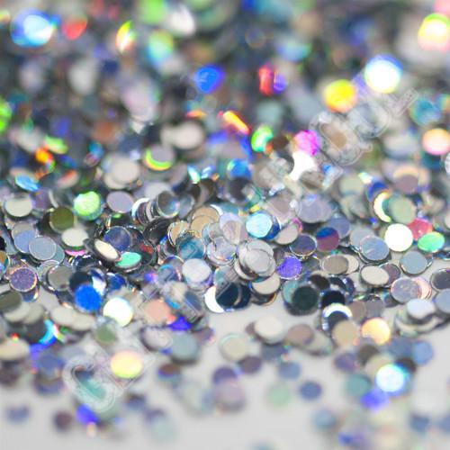 Silver Holo Dots .040