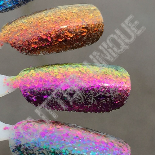 Violet-Pink-Gold UCC-MEGA Flakes