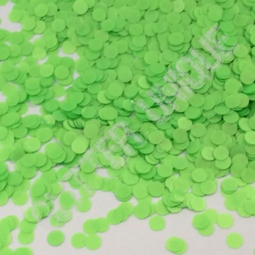 Neon Green Dots .078