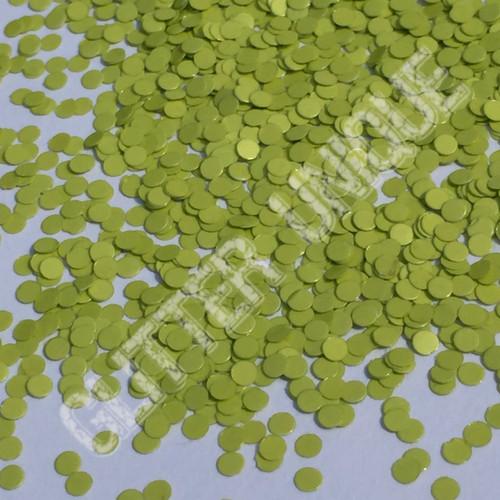 Matte Apple Green Dots .078
