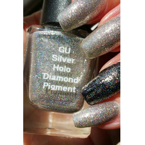 Silver Holo Diamond Pigment
