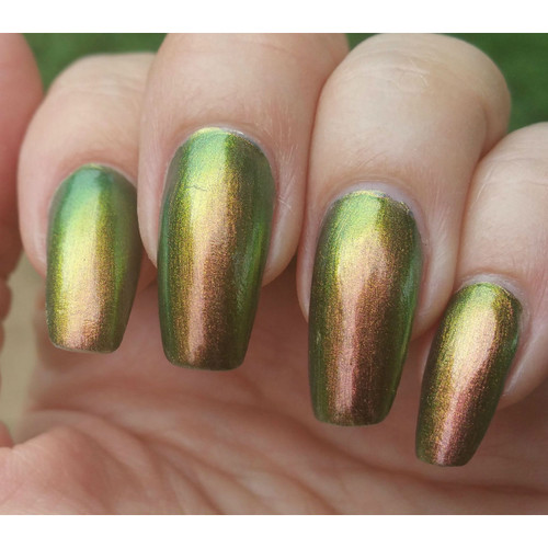Copper/Gold/Green Ultra Chrome Chameleon Pigment