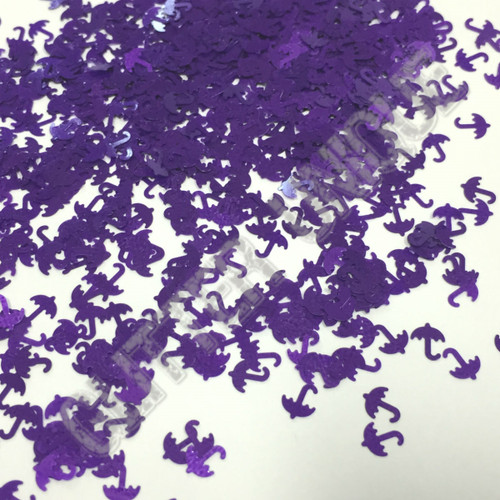 Matte Purple Umbrellas