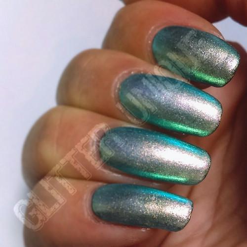 Gold/Indigo Chameleon Pigment