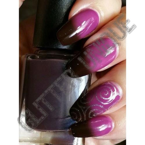 Black to Purple Thermochromic Pigment
