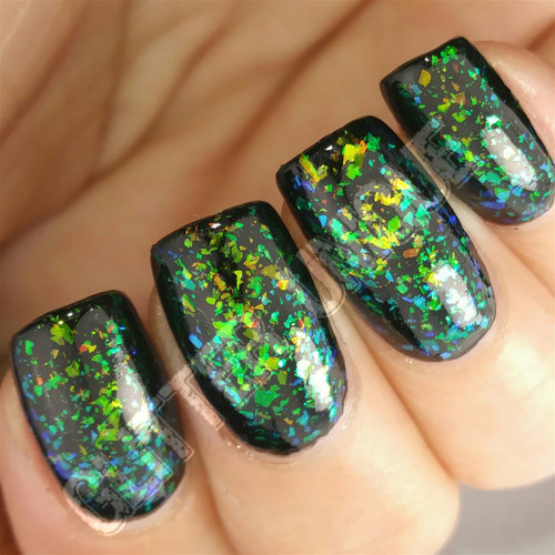 Lime/Copper/Blue Color Shifting Flakes