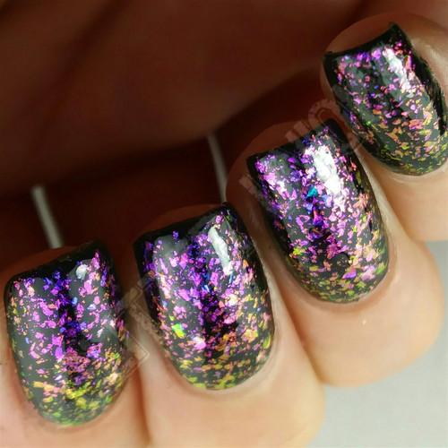 Blue-Violet/Pink/Gold Color Shifting Flakes