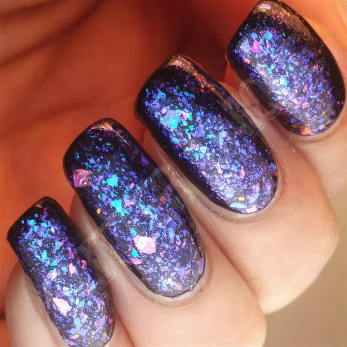 Aqua/Purple/Pink Color Shifting Flakes