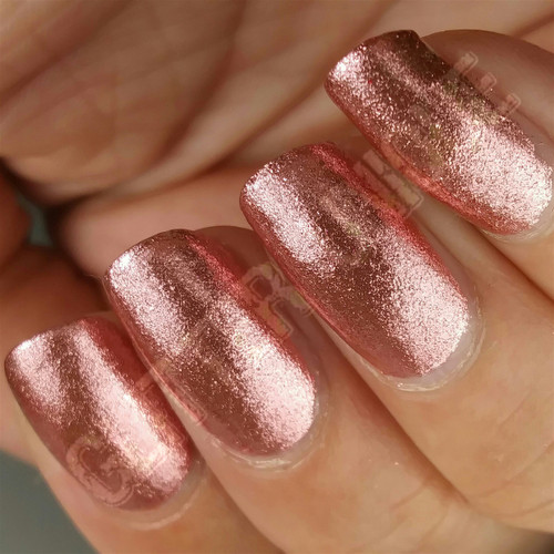 Rose Gold Metallic Micro Flakes