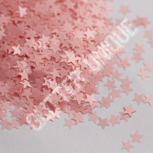 Matte Bubblegum Pink Stars