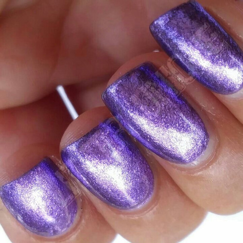 Purple Metallic Micro Flakes