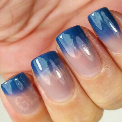 Blue to Nude Thermochromic Pigment
