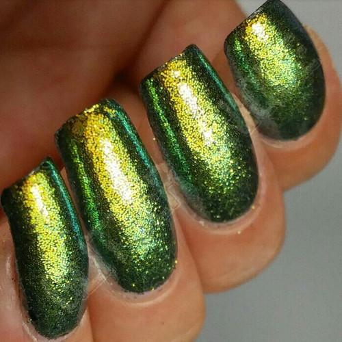Chameleon Glitter - Gold/Green