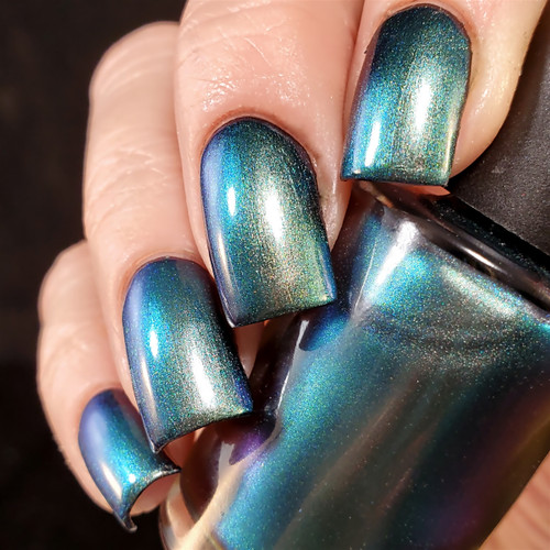 Silver/Blue Ultra Chrome Chameleon Pigment