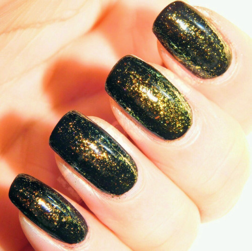 Gold-Bronze Ultra Chrome Chameleon Flakes