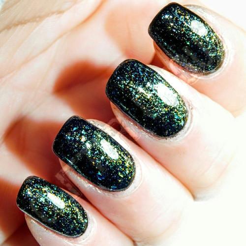 Green-Bronze-Blue Ultra Chrome Chameleon Flakes
