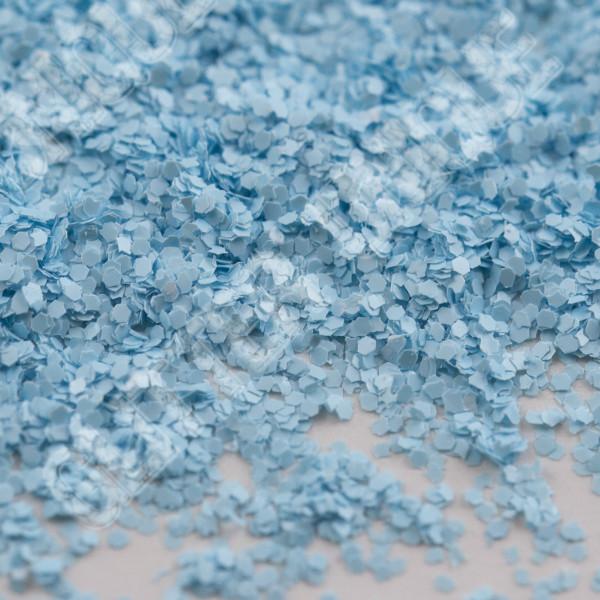 Matte Polar Blue Hex .015