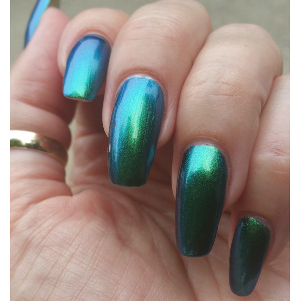 Emerald/Blue/Gold Ultra Chrome Chameleon Pigment