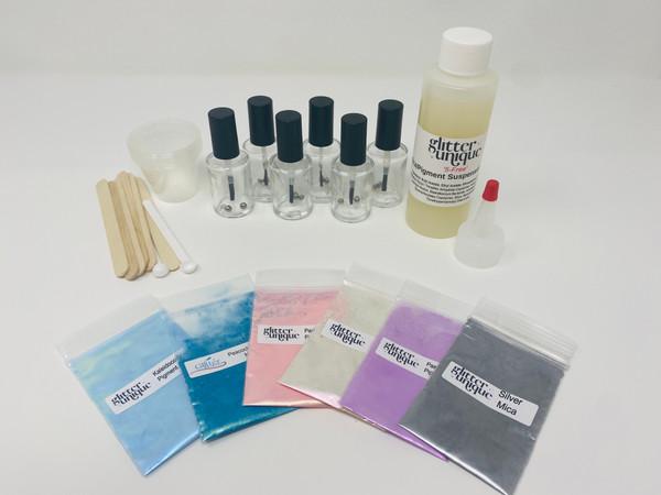 DIY pigment polish kit