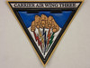 CARRIER AIR WING THREE ( CVW-3 )  CLASSIC Embossed  Full Color