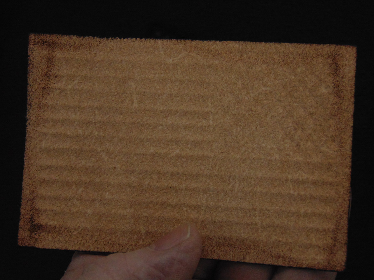 US FLAG  Browntone Embossed  (Second)  slight  imperfections