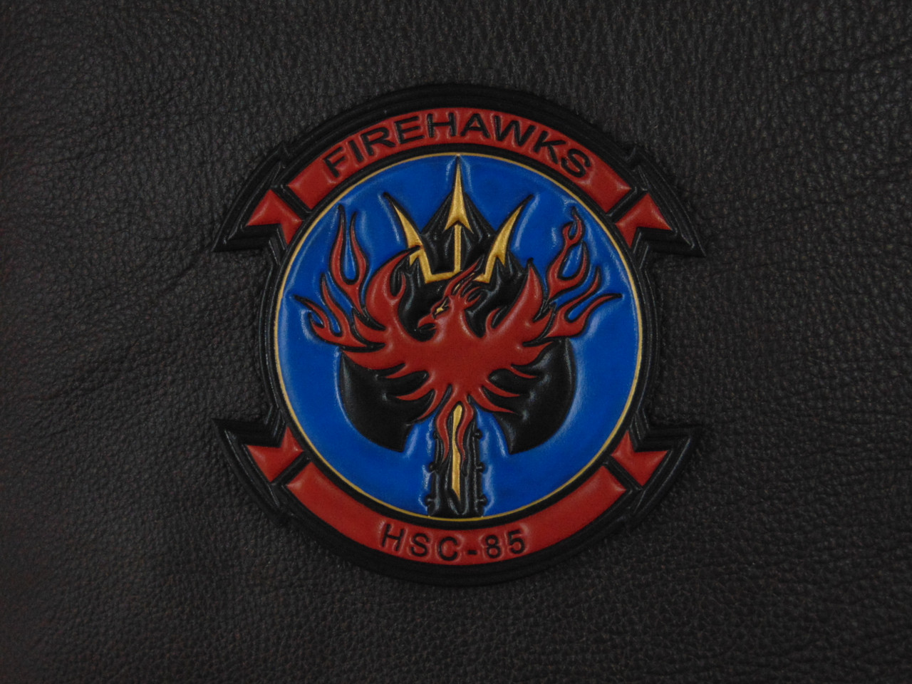 HSC-85 FireHawks Classic Embossed full color