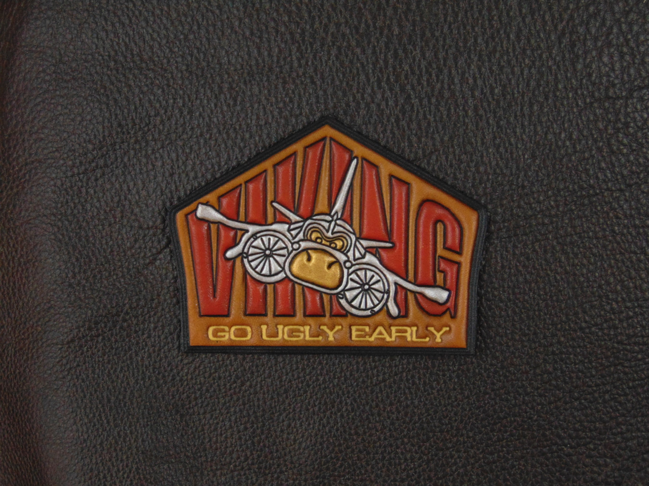 VIKING S-3 GO UGLY EARLY  Classic Embossed