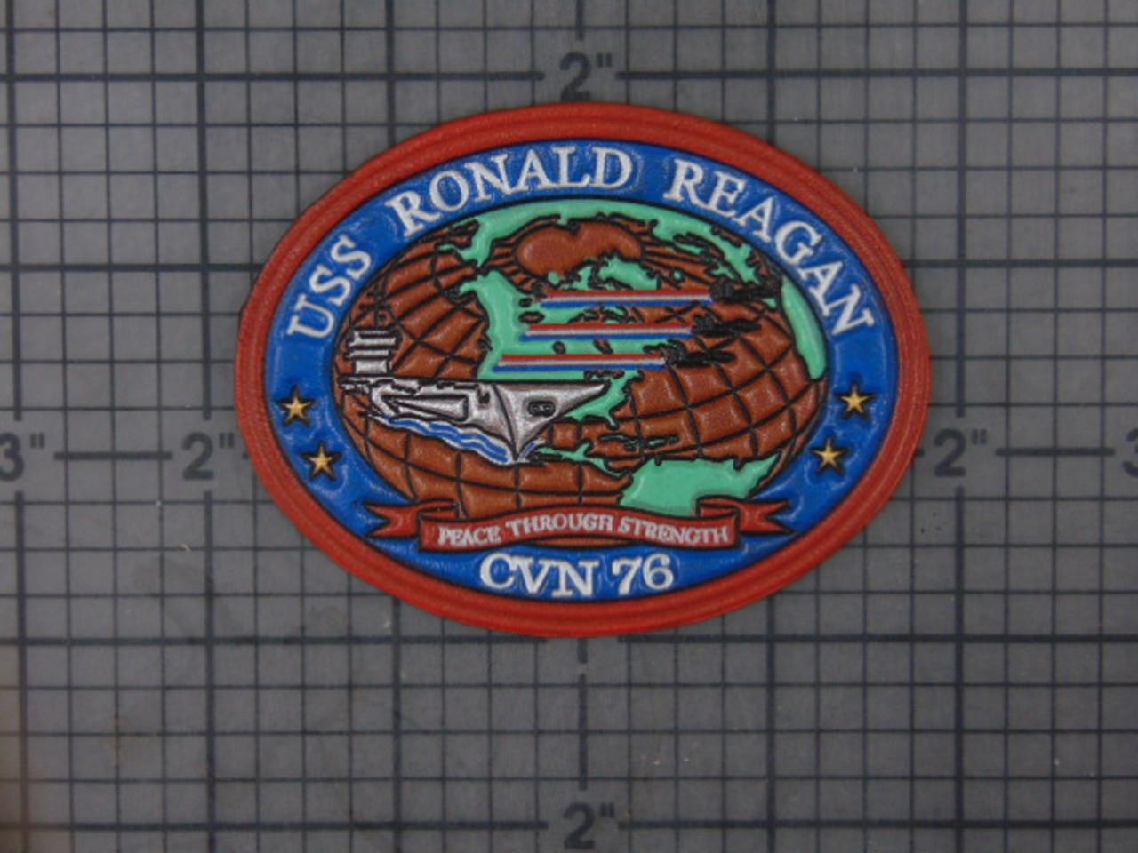 CVN-76 USS RONALD REAGAN   Embossed