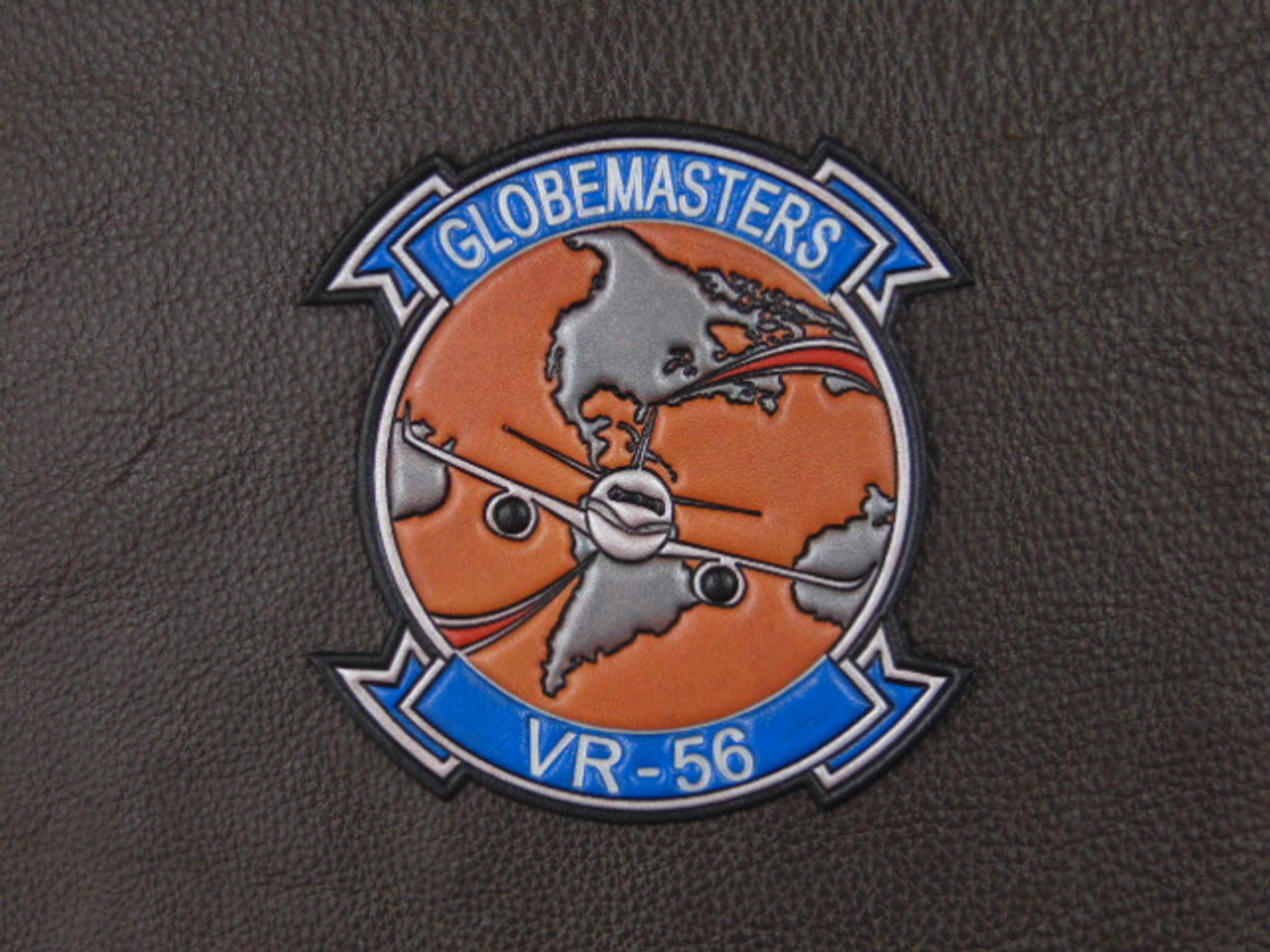 VR-56  GLOBEMASTERS (2020) Patch Classic Embossed