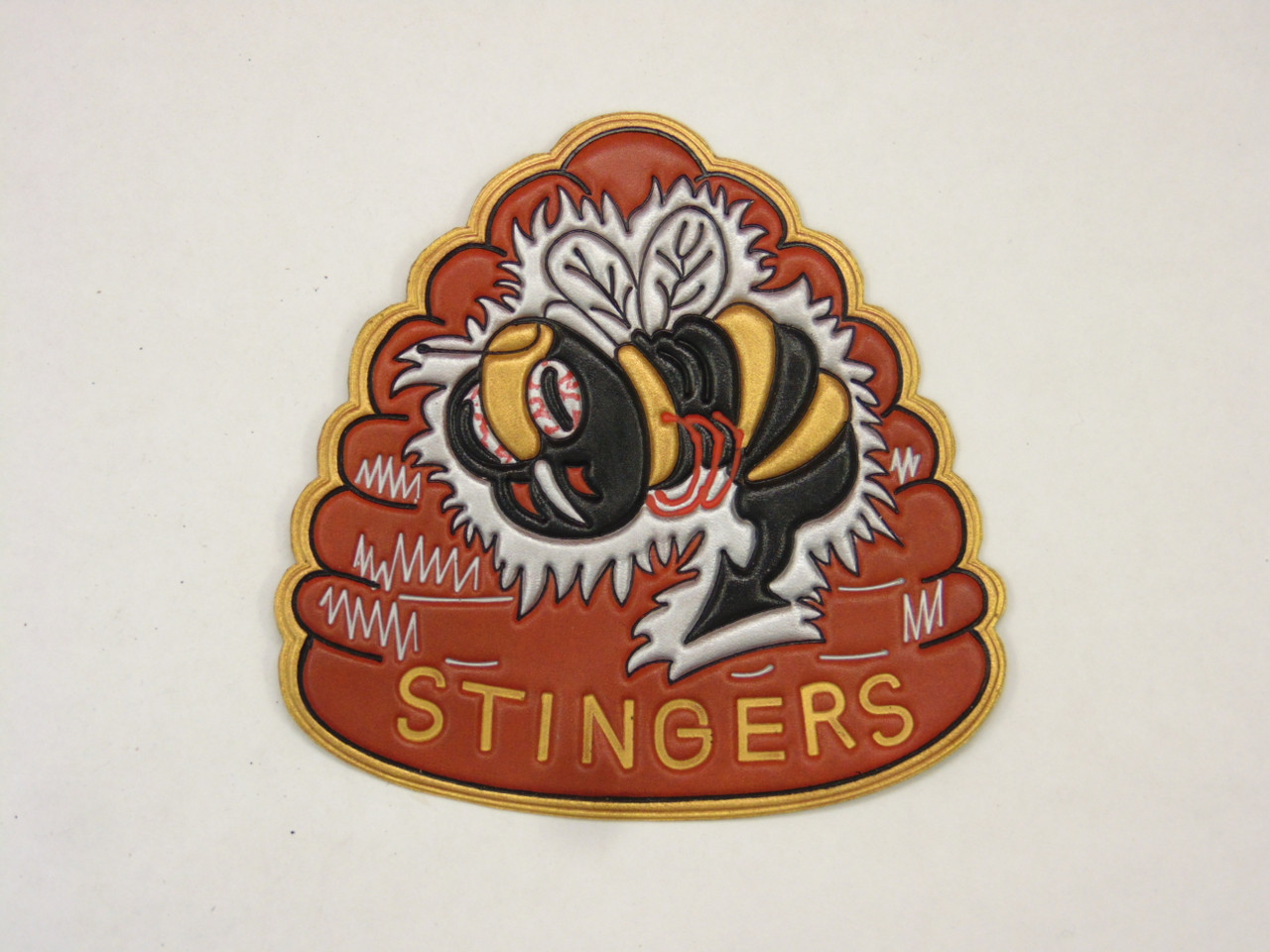 VFA-113  Large Bee Hive   Classic Embossed Back  patch