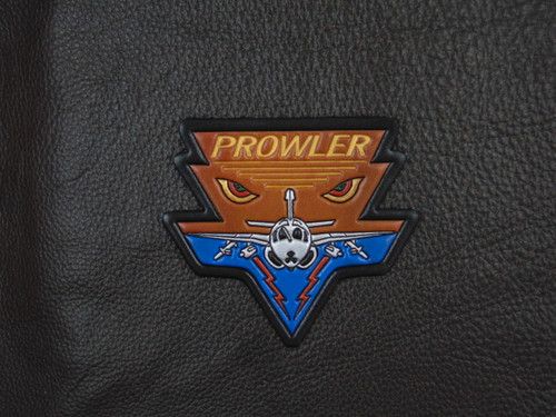 EA-6B PROWLER EYES  Classic Embossed Leather