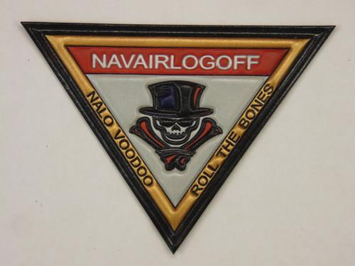 NAVAIRLOGOFF Classic Embossed