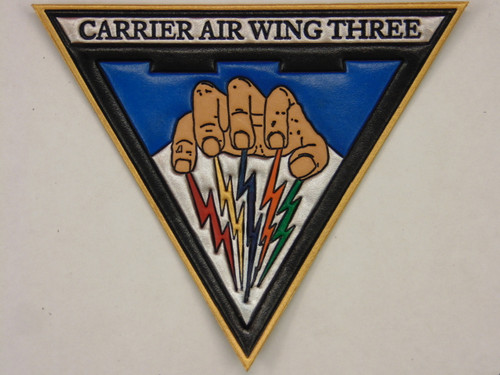 CARRIER AIR WING THREE ( CVW-3 )    Full Color