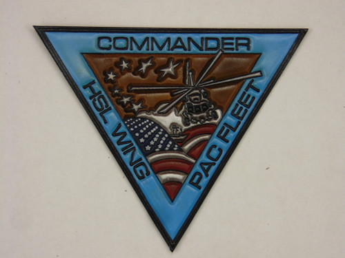 COMMANDER HSL WING PACIFIC FLEET Classic Embossed